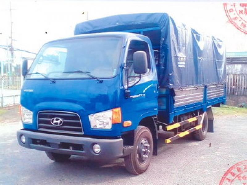 Xe Tải Hyundai 75S Thùng Bạt
